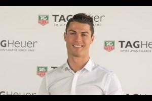 Cristiano Ronaldo para Tag Heuer