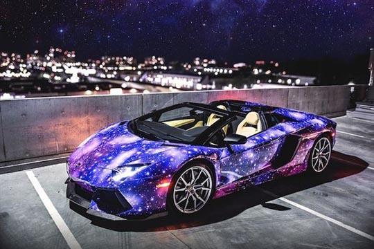 Lamborghini llevado a lo intergaláctico