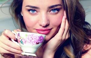 Monday's Tea: El juego de té de Miranda Kerr