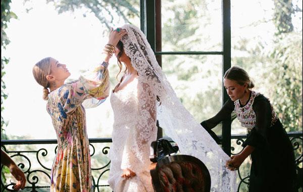 Las gemelas Olsen ¿diseñadoras de vestidos de novia?