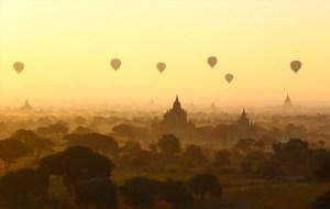 Los mejores paseos en globo aerostático del mundo
