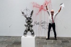 El vandalismo en la retrospectiva de Jeff Koons