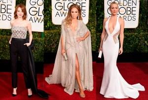 Golden Globes 2015: Las mejor vestidas