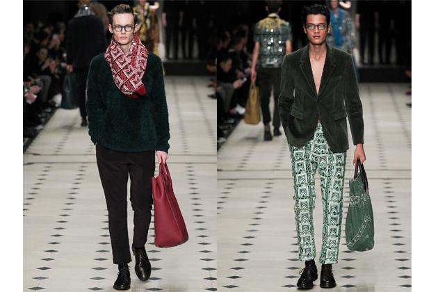 Menswear: Burberry Prorsum Fall 2015