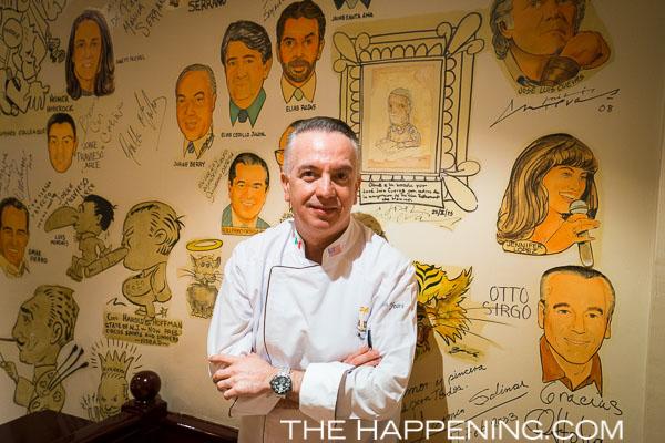 Platicamos con Luis del Sordo, chef ejecutivo de The Palm,