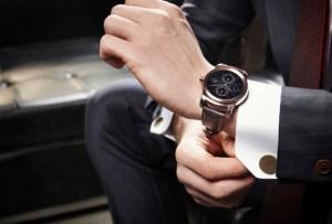 LG nos presenta el smart watch más elegante