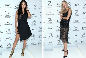 IWC celebra la alta relojería con top models y una gran gala
