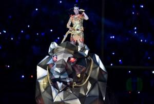 El colorido show de Katy Perry en el Super Bowl