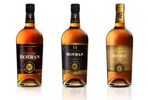 Botran nos presenta sus botellas junto a Heinz Kaiser