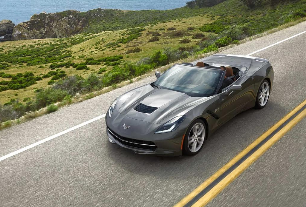 10 automóviles que todo hombre desea - Chevrolet-Corvette-C7