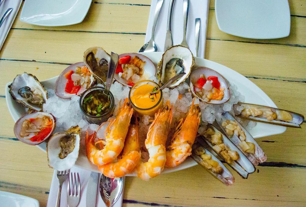 5 restaurantes de mariscos para visitar en pascua