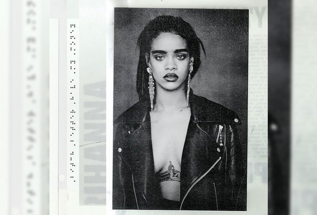 Rihanna nos presenta la portada de su nuevo álbum - Rihanna