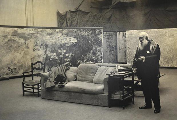 10 famosos artistas en su estudio creativo - Studio-Claude-Monet