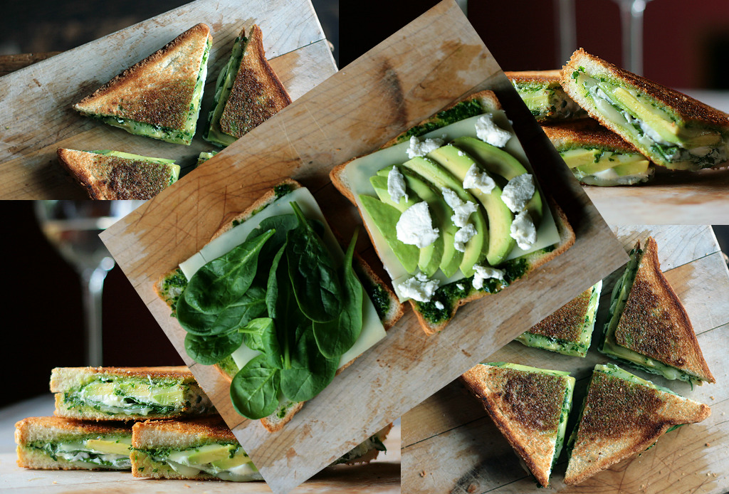 Un grilled cheese sandwich que no te hará sentir tan culpable