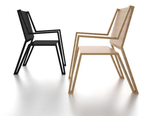 5 muebles en los que hay que invertir en tu primer depa - Outline-Chair
