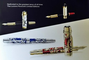 Montblanc rinde tributo a Luciano Pavarotti