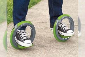 Sidewinding los patines circulares