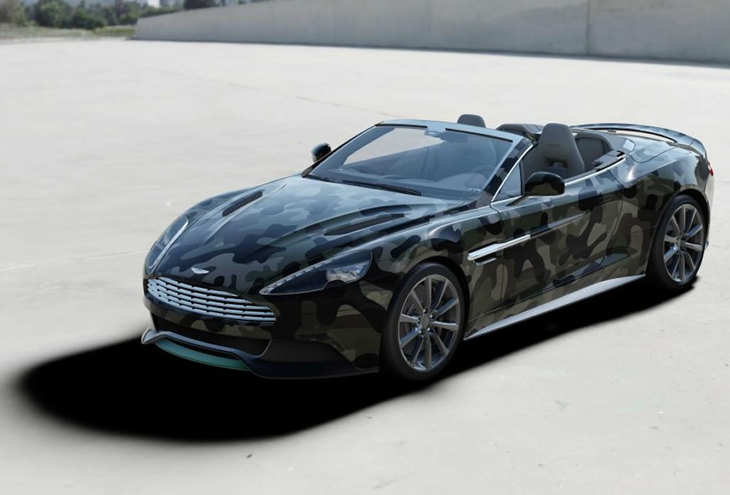 Valentino diseñó un Aston Martin ¿les gusta?