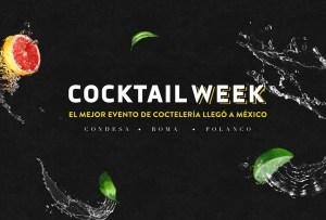Cocktail Week llega a la Ciudad de México