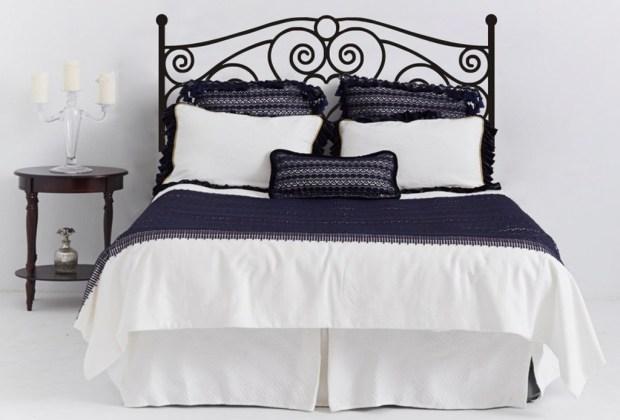 6 alternativas para una cabecera de cama original - Cabecera-vinil-2-1024x694