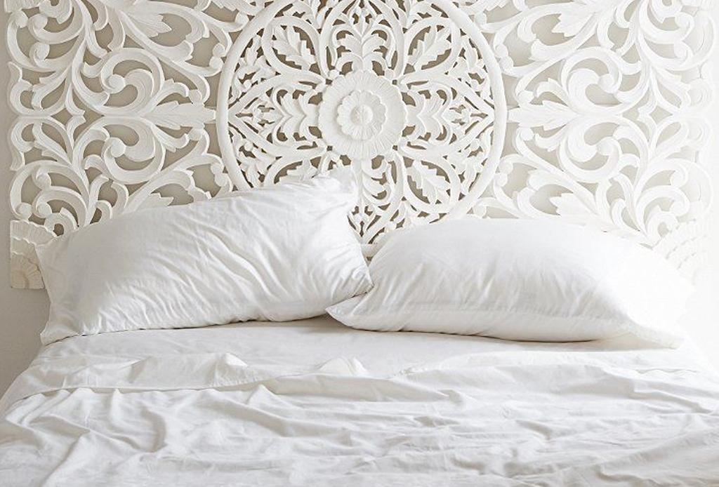 6 alternativas para una cabecera de cama original for Cama original