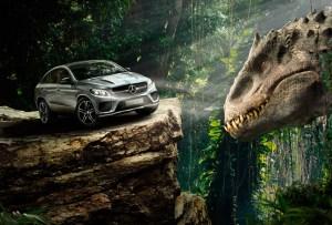 Vehículos a prueba de dinosaurios