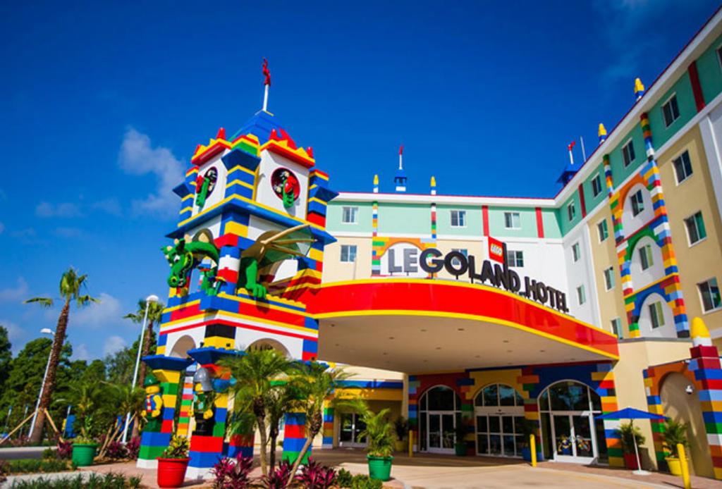 Hospédate en el hotel de Legoland - Legoland