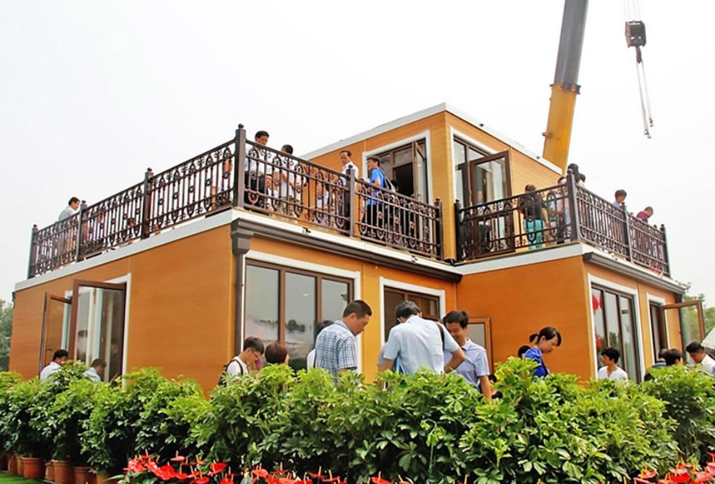 ¡En China imprimieron una casa completa en 3D! - Casa-3D-china