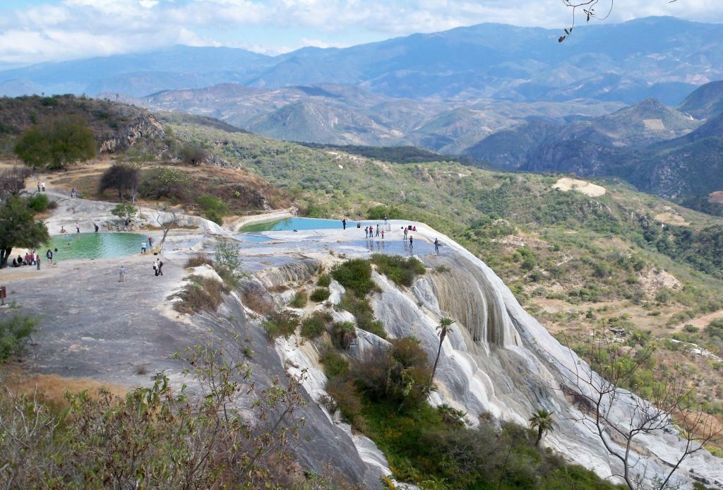Top 5: las cascadas más impresionantes de México - Hierve-el-agua
