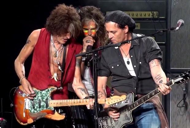 Johnny Depp es parte de una banda musical - Hollywood-Vampires-1024x694