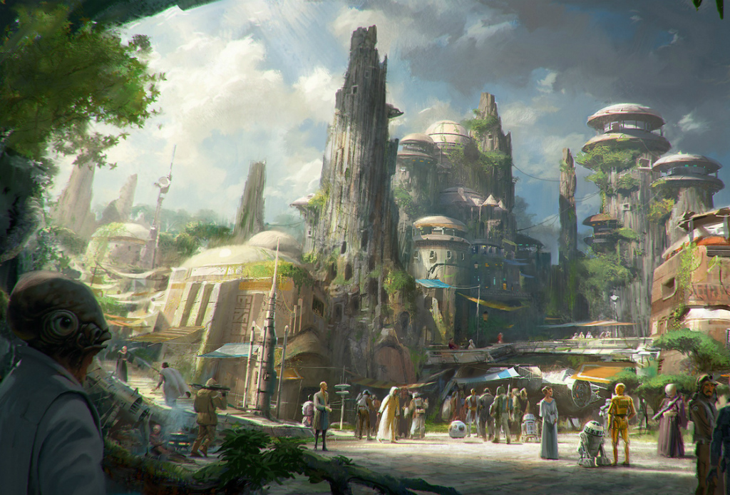 ¡Van a construir dos parques de Star Wars de Disney! - Star-Wars-Disney