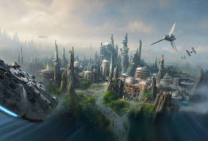 ¡Van a construir dos parques de Star Wars de Disney!