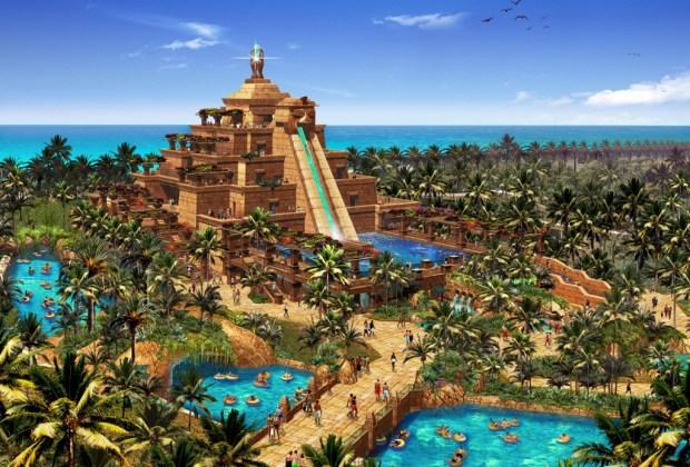 Los 5 parques acuáticos más increíbles del mundo - aquaventure-dubai-1024x694
