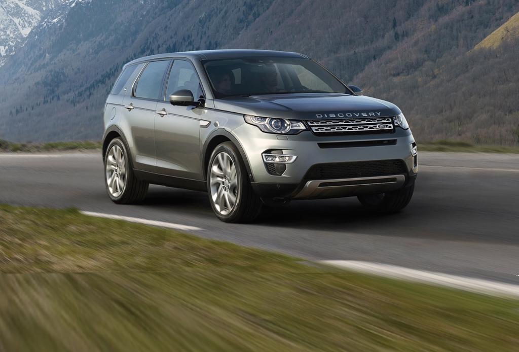 La nueva Discovery Sport SUV de Land Rover te lleva al Reino Unido