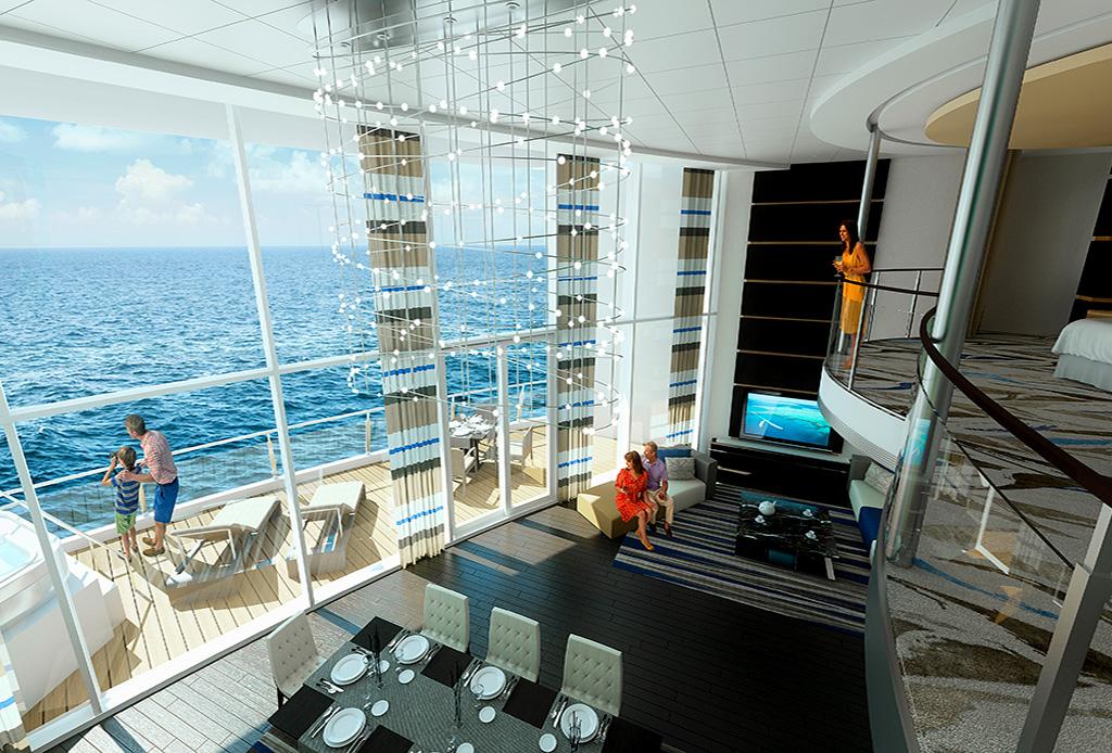 Las 5 suites de cruceros más exclusivas del mundo