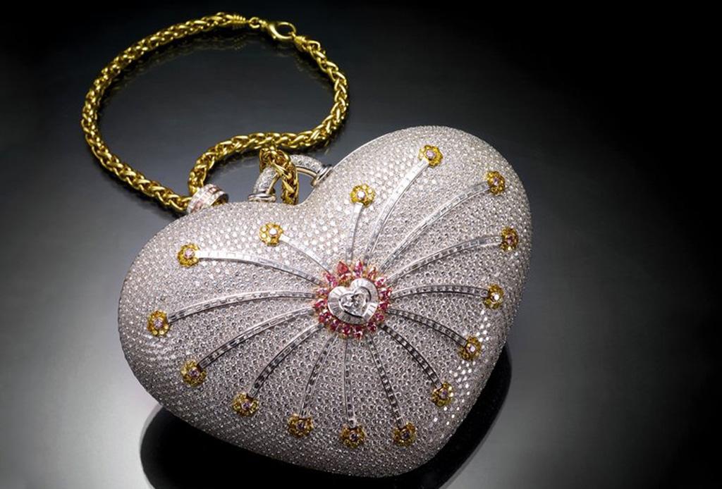 Las 10 bolsas más caras de la historia - mouawads-heart