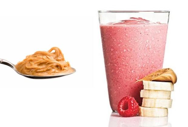 El mejor y más saludable peanut butter smoothie - smoothie1-1024x694