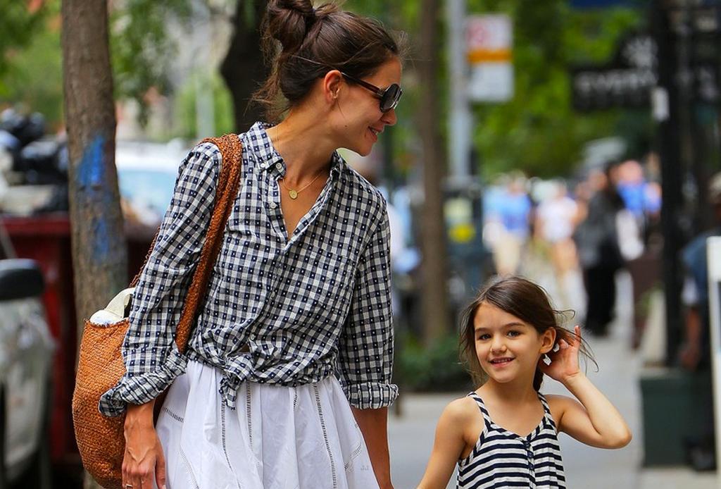 Famosas y sus hijas que parecen gemelas - celebridades-madre-e-hija-4