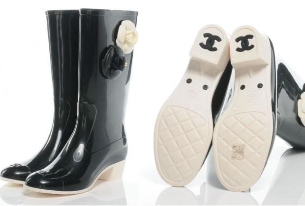 Las rain boots más originales para esta temporada - chanel2-1024x694