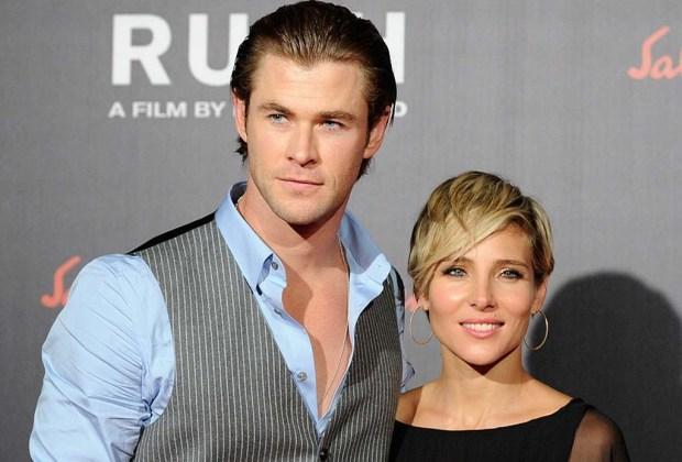 Los famosos que son físicamente idénticos a sus parejas - chris-y-su-esposa-1024x694