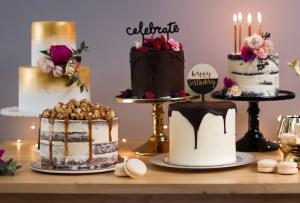 12 impactantes pasteles de boda