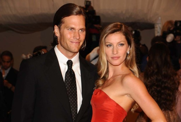 Los famosos que son físicamente idénticos a sus parejas - tom-brady-1024x694