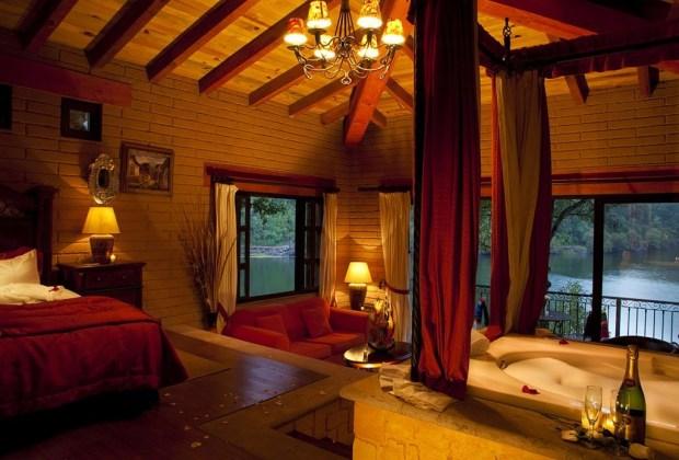 cabanas en mexico sierra lago resort