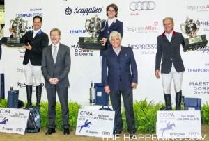 Audi y Scappino presentaron la Copa de Salto 2015