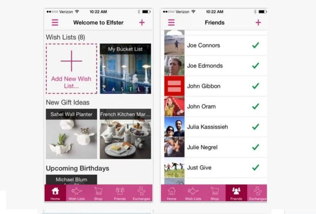 ¿Planeas un intercambio de regalos? ¡Descarga estas apps! - elfster-app-1024x694