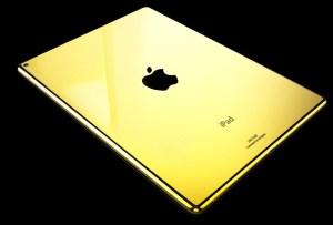 Cubre tu iPad Pro con oro