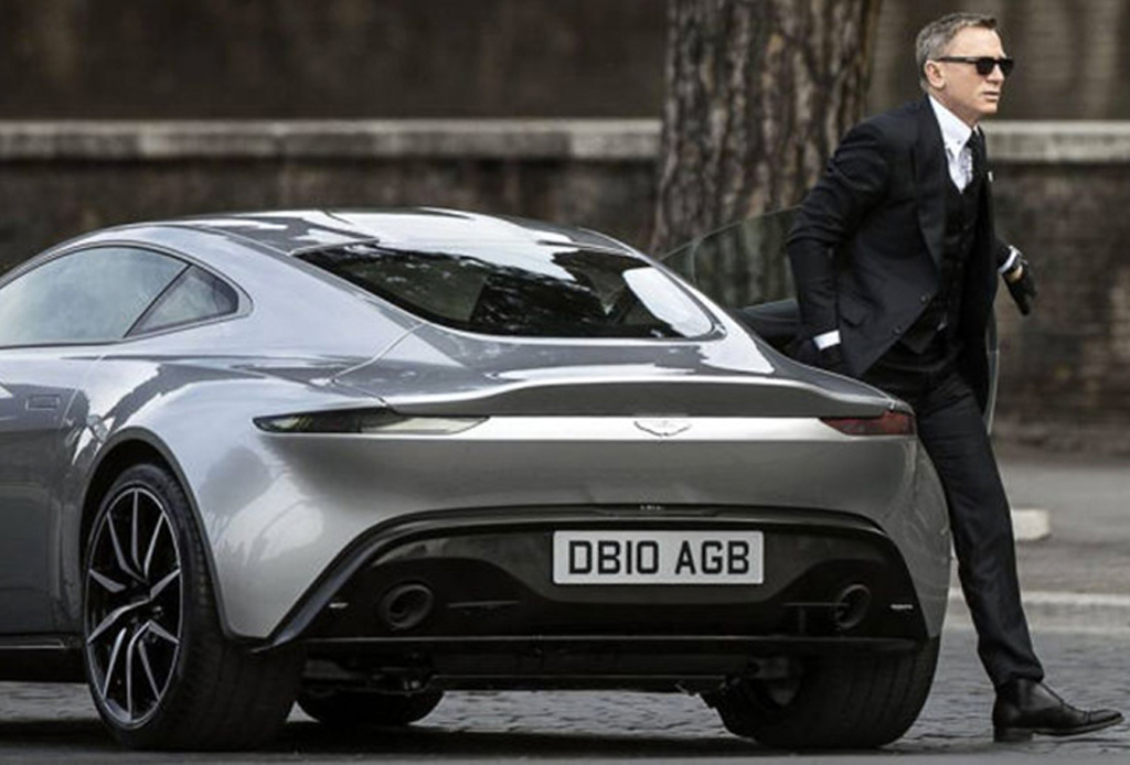 Aston Martin DB10: El primer miembro del cast de 'Spectre'