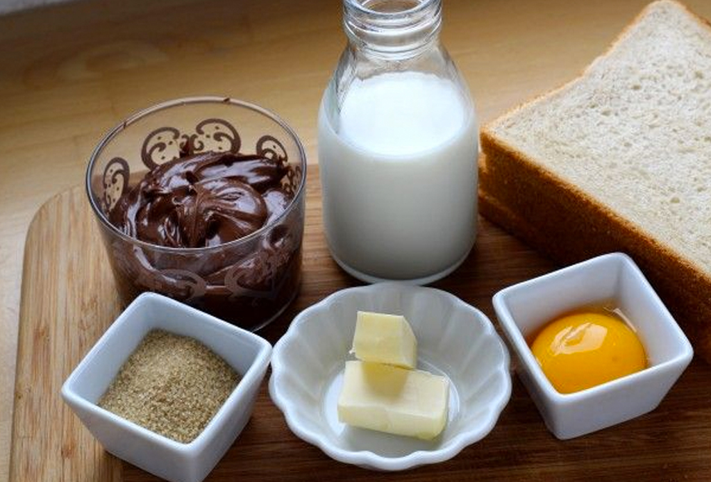 Prepara unos exquisitos rollos de Nutella - receta-facil-nutella