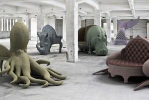 Las increíbles sillas inspiradas en animales