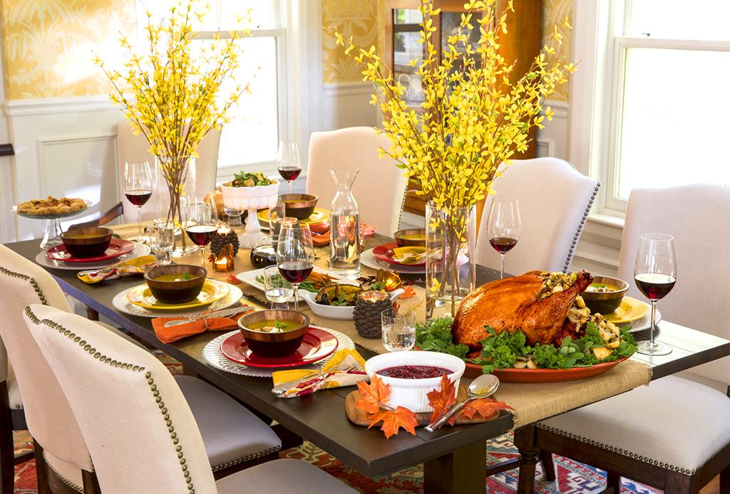 5 tips de decoración para una cálida cena de Thanksgiving